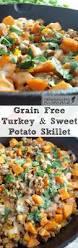 sweet turkey recipes thanksgiving taco sweet potato hash with ground turkey easy paleo recipes