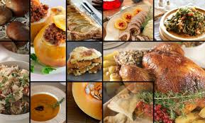 flavors for thanksgiving food cooking