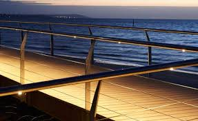 Illuminated Handrail Illuminated Handrail Allowing You Walk With Easy Down The Aisles