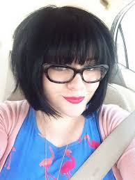 short hairstyles with glasses and bangs 25 short bob haircut with bangs short bobs haircuts and short