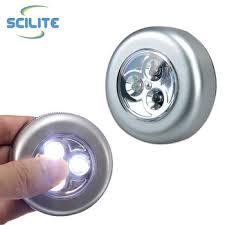 stick on lights for closets mini 3 led tap cordless touch l light stick on wall closet night
