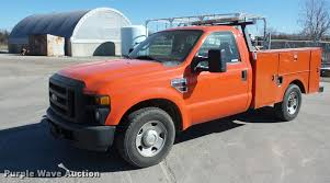 Ford F250 Truck Bed - 2008 ford f250 super duty utility bed pickup truck item ag