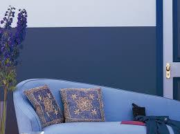 peindre une chambre avec deux couleurs peindre un mur en 2 couleurs idées décoration intérieure