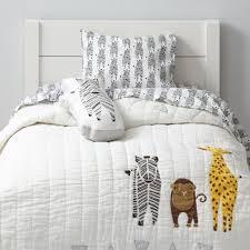 toddler bedding sets the land of nod savanna toddler bedding zebra