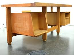 bureau chene clair intérieur de la maison grand bureau design bois grand bureau