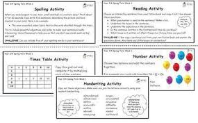 3 4 back 2 basics weekly activities spring term pack