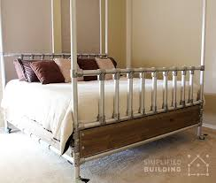 Bed Frame Alternative 47 Diy Bed Frame Ideas Built With Pipe Simplified Building