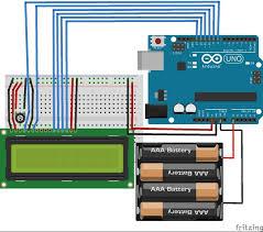 displaying battery life on a liquid crystal display lcd 4 steps