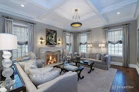 Ceiling Light Crown Molding by Traditional Living Room With Crown Molding U0026 Box Ceiling In