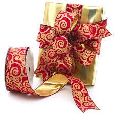 sided ribbon gold wired velvet ribbon shop papermart