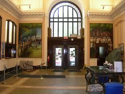 arcade en bois post office murals saratoga springs ny living new deal