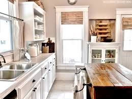 Rustic Country Kitchen Cabinets by Kitchen Awesome Modern Rustic Kitchen Design With Brown Cabinet