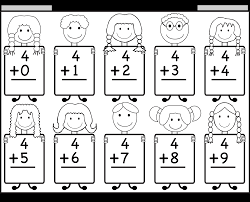 beginner addition u2013 basic addition facts u2013 9 kindergarten addition