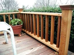 porch banister porch railing height porch stair railing how to install wood on