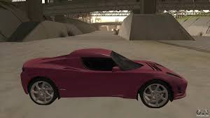 tesla supercar concept tesla roadster for gta san andreas