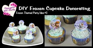 thanksgiving cupcake recipes ideas diy frozen party idea 3 cupcake decorating youtube