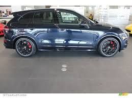 porsche cayenne 2016 colors moonlight blue metallic 2016 porsche cayenne gts exterior photo