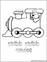 clip art train engine coloring page mycoloring free printable