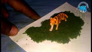 How To Make I How To Make Grass For Model Project Youtube