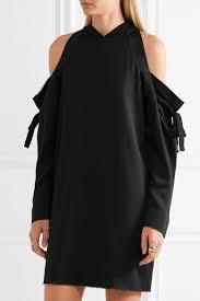 dkny cutout satin mini dress black women clothing dresses dkny