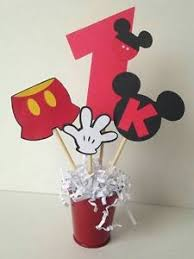 mickey mouse center pieces mickey mouse centerpiece party supplies ebay