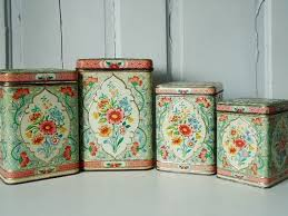 antique kitchen canister sets 192 best all things tin canisters images on cooking