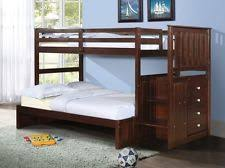 Wooden Bunk Bed With Stairs Staircase Bunk Beds Ebay