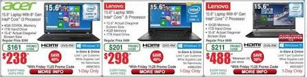 best hp laptop deals black friday 2016 fry u0027s black friday deals include 98 dell laptop apple mac sales