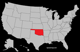 New York On The Map by Oklahoma Location On The Us Map Oklahoma Map Usa Oklahoma Map