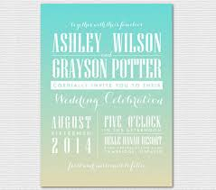 beachy wedding invitations wedding invitations