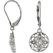 leverback diamond earrings 1 ctw diamond leverback earrings ref 224202 stuller 67993