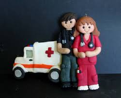 ambulance doctor emt ornament emergency