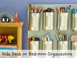 Diy Kid Desk Budget Friendly Kid S Desk Organization Diy