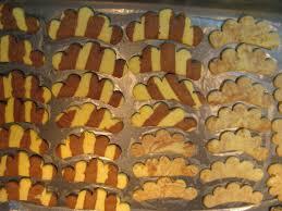 christmas cookies part 2 striped combs dvojfarebné hrebienky