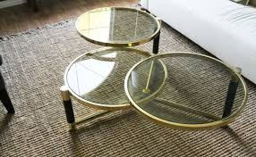 Metal And Glass Coffee Table Round Modern Glass Coffee Table Eva Furniture