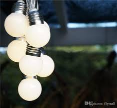 Solar Powered Fence Lights - cheap solar powered led string light 3m 10leds g50 bulbs