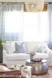 ikea slipcovered sofa