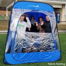 baseball tent chair teampod undercover all weather sportpod pop up chair tent