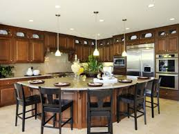 large kitchen island with seating this is an elegant kitchen