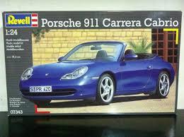 porsche 911 model kit revell model kit 1 24 07343 porsche 911 cabrio mib 1999