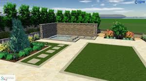 modern villa u2014 3d landscape design u2014 realtime landscape architecture