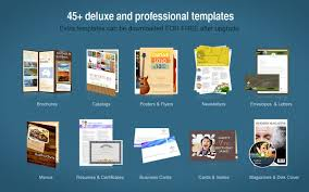 design flyer mac publisher lite on the mac app store