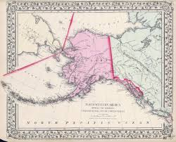 Map Of Russia And Alaska by Antique Maps Of Alaska