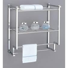 Bathroom Shelving Unit by Bathroom Decorative 4 Tier Wooden Bathroom Ladder Shelving Unit