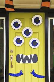 Halloween Party Ideas Googly Eyed Monster Halloween Party Ideas Monster Doors