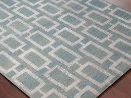 handmade modern steel blue rug orange county rugs