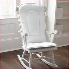 Cushion For Rocking Chair For Nursery Upholster A White Wooden Rocking Chair For Nursery Editeestrela