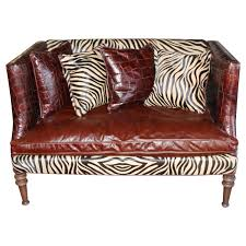 Leopard Print Chaise Decor Mackenzie Chaise By Old Hickory Tannery With Leopard
