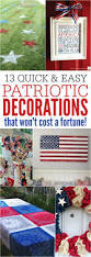 patriotic decorations 13 quick and easy 4th of july decorations