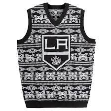 raiders light up christmas sweater amazon com boston bruins men s nhl aztec print ugly sweater vest